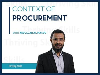 Context of Procurement