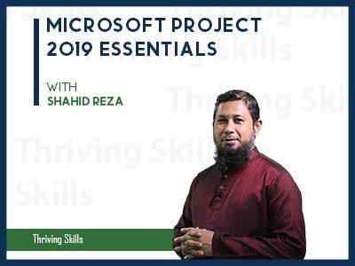 Microsoft Project 2019 Essentials
