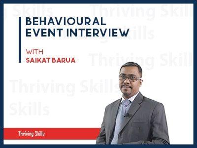 Behavioural Event Interview