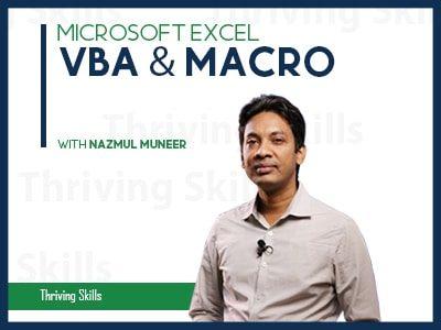 Microsoft Excel – VBA & Macro