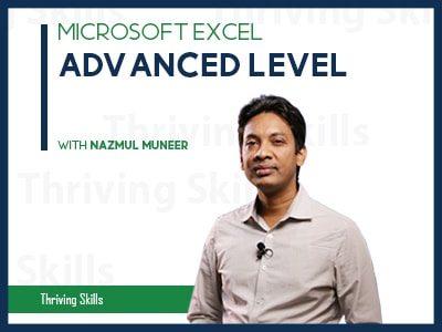 Microsoft Excel – Advanced Level