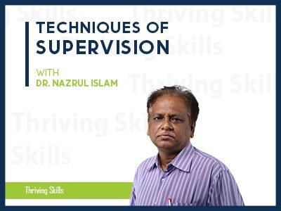 Techniques of Supervision