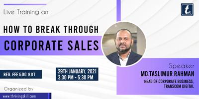 How to Break Through Corporate Sales