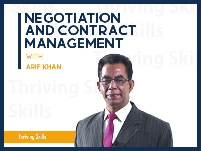 Negotiation and Contract Management